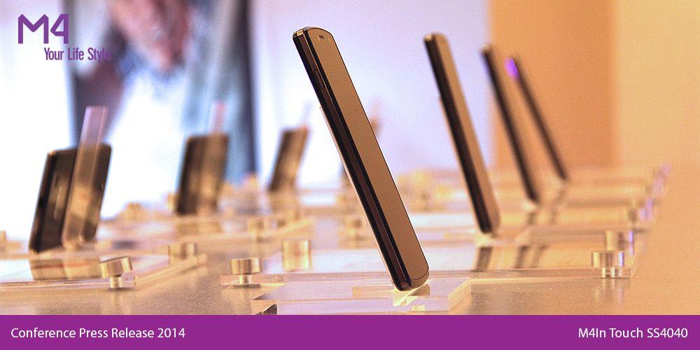 """Diseño ultradelgado; amplia pantalla de 5"""", resolución qHD, totalmente touch y capacitiva #M4InTouch SS4040"""