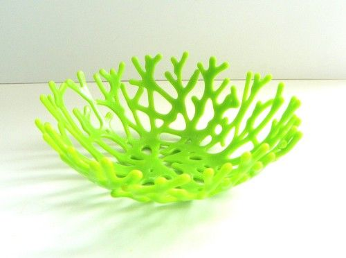 C Bowl In Lime Green Art Gl By Uneek Fusions
