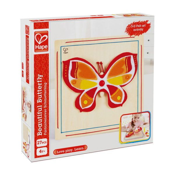 Create a dazzling masterpiece with this beautiful butterfly.