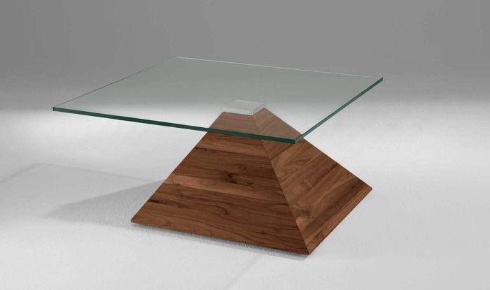 La table basse bois et verre en 43 photos d\'intérieur!