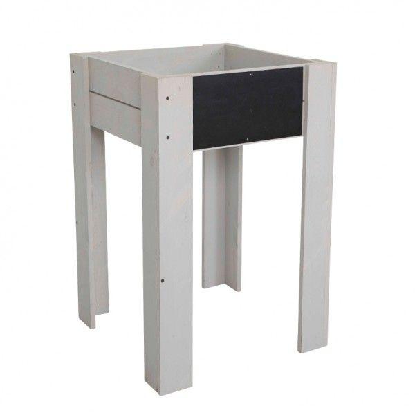 Sichtschutzbank Akazie, FSC® 100, B80cm x H170cm, natur