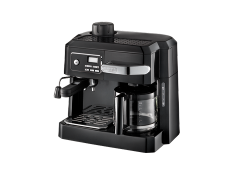 Delonghi Combination Espresso And Drip Coffee Black De Longhi With Programmable Timerideal For Entertaining