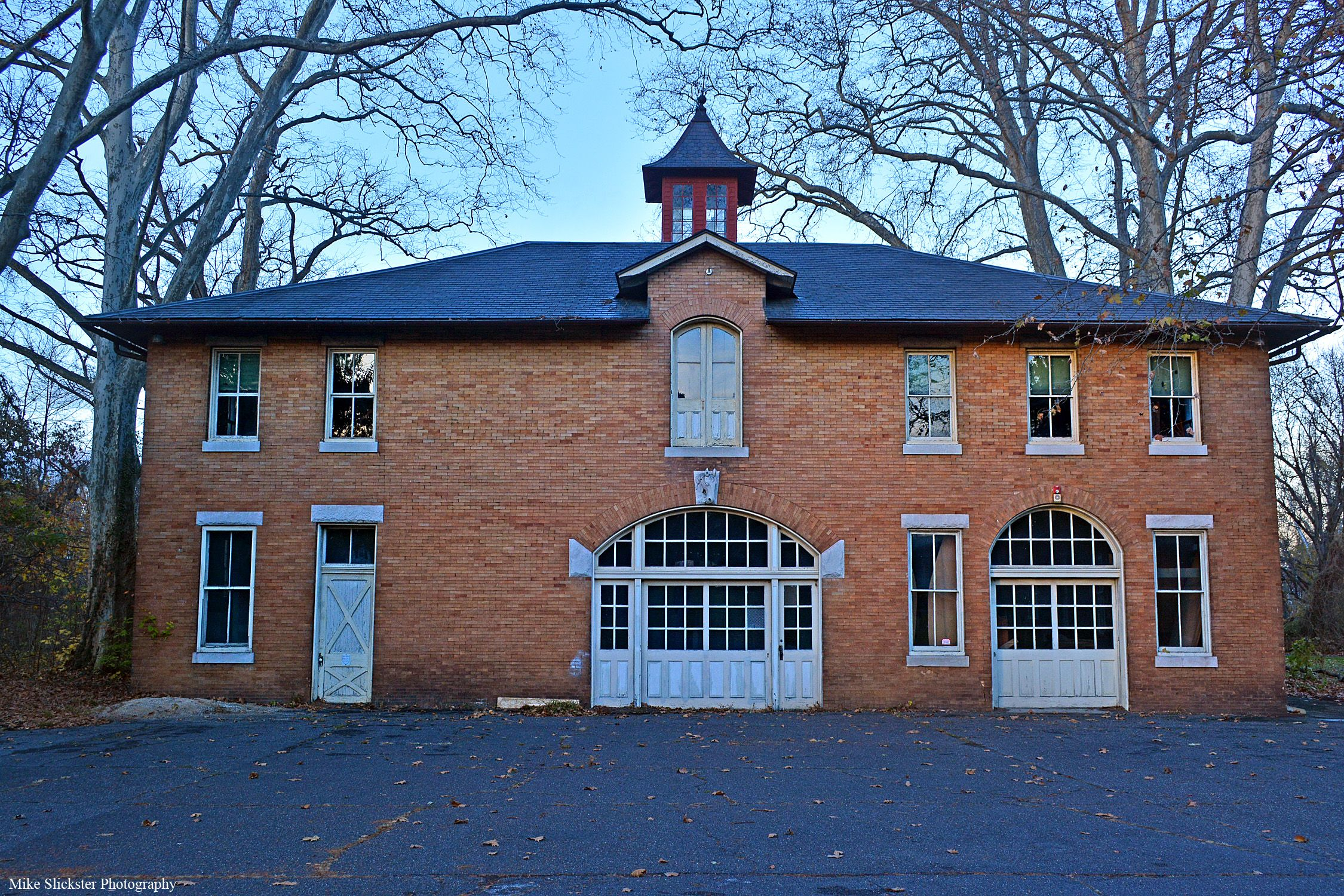 Front View of the Carriage House
