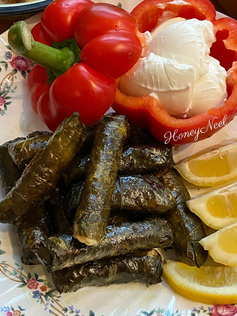 Youtube Yummy Veggie Grape Leaves ال ذ محشي ورق عنب بالخضار Delicious Healthy Best Food Ever Stuffed Grape Leaves