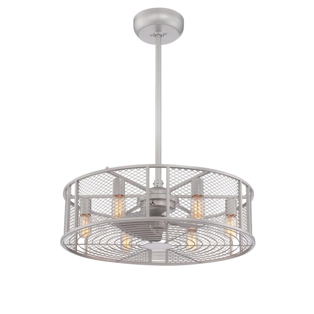 caged covers fan light kitchen with exterior hunter combo kit drum white crystal low mount ceiling shade flush unusual elegant chandelier install lights fans