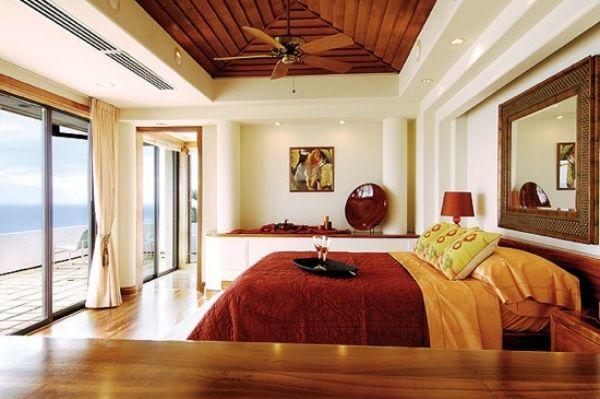 Wirkung der Farben-Feng shui-Einrichtung-Schlafzimmer - schlafzimmer feng shui farben