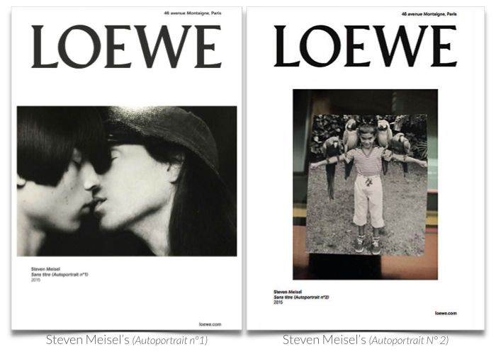 Loewe and Meisel take a 'Selfie' for Fall 2015 Ads | The Imprint