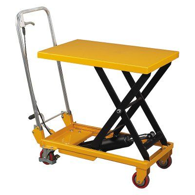 Wesco Scissor Lift Table with Folding Handle - 260208, Durable ...