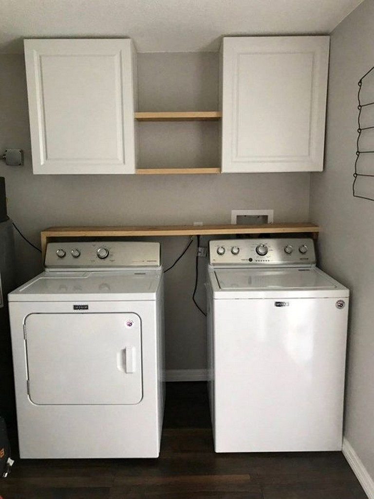 50 modern minimalist laundry room ideas for small space on extraordinary small laundry room design and decorating ideas modest laundry space id=74244