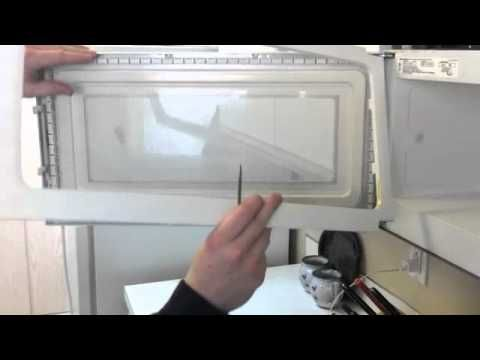 Over The Range Microwave Oven Door Repair Help Video Use This To Access The Glass Behind The Mesh On The Microwave Microwave Oven Door Repair Range Microwave