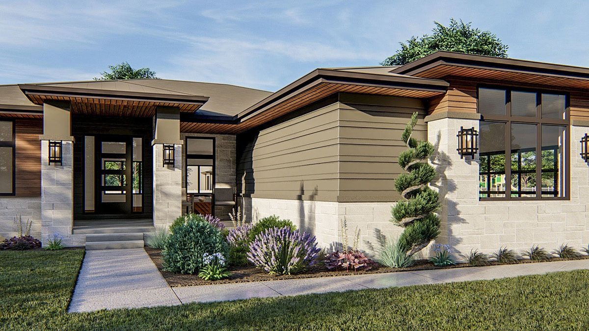 Pin On Modern Prairie Homes