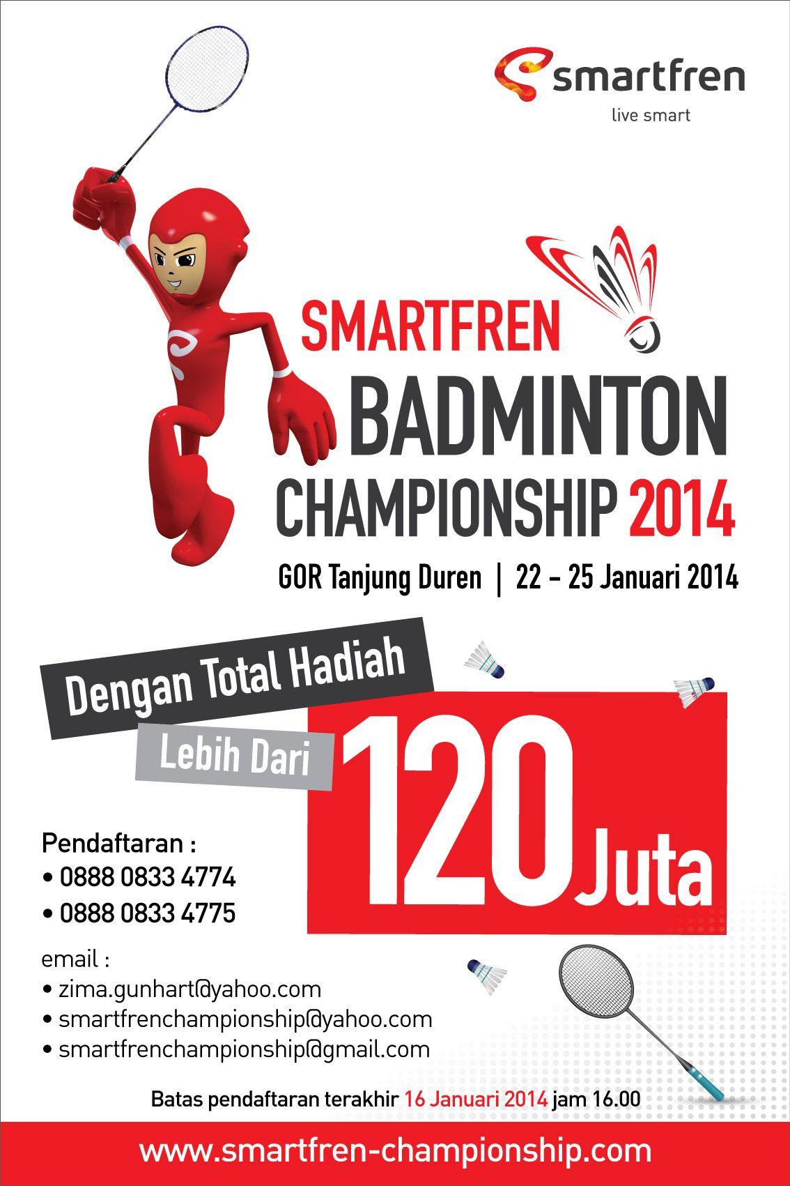 Kamu Jago Main Badminton Ayo Ikutan Smartfren Badminton