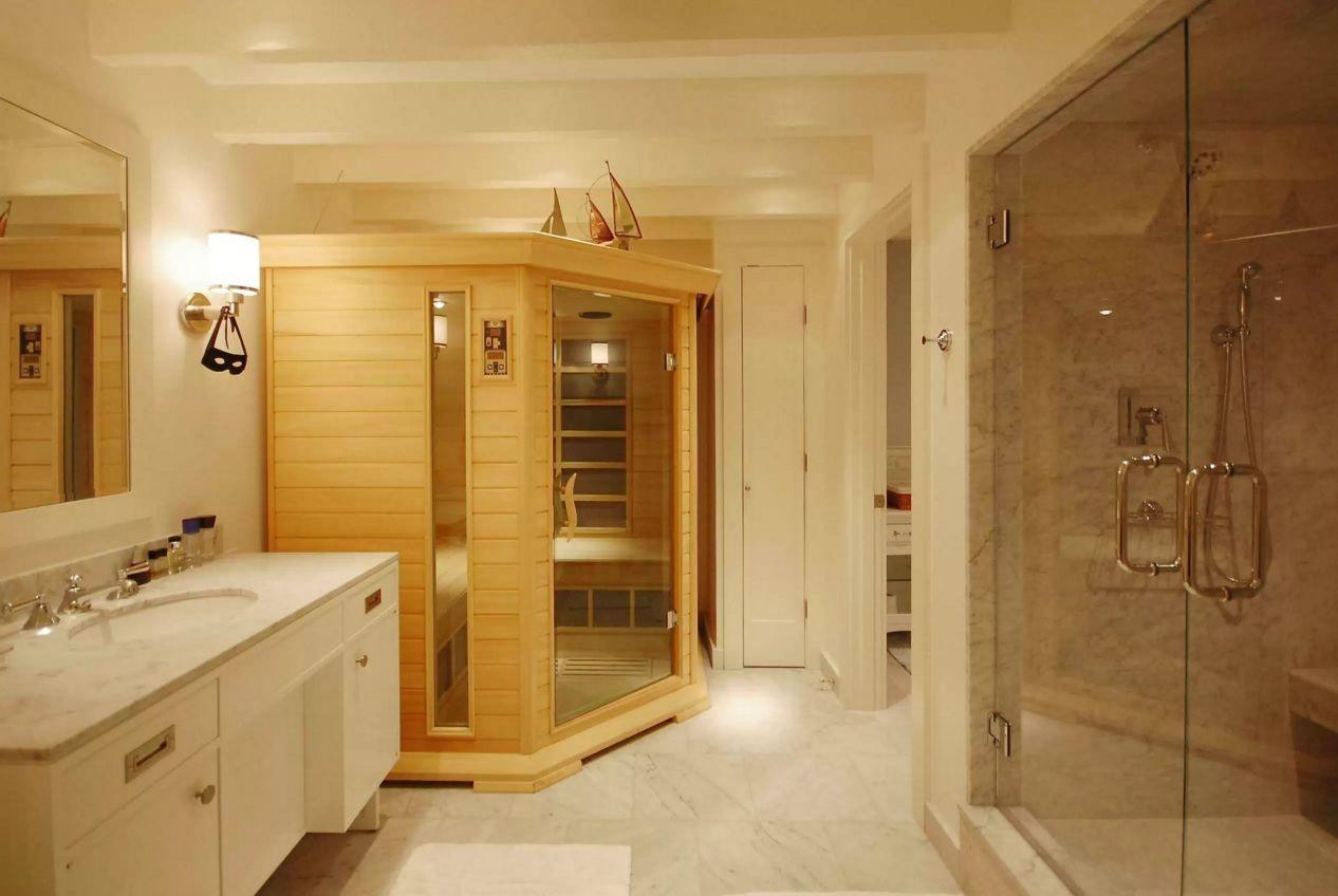 choosing new bathroom design ideas 2016 finnish sauna in the light finished practical modern area - Sauna Design Ideas