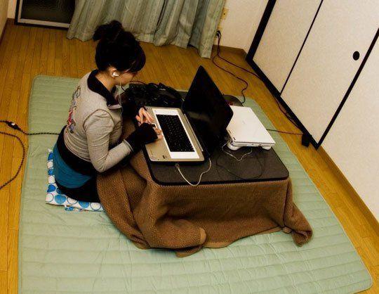 Kotatsu: The Heated Small Space Desktop