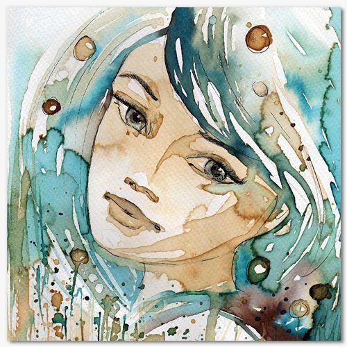 Epingle Sur Art Watercolour