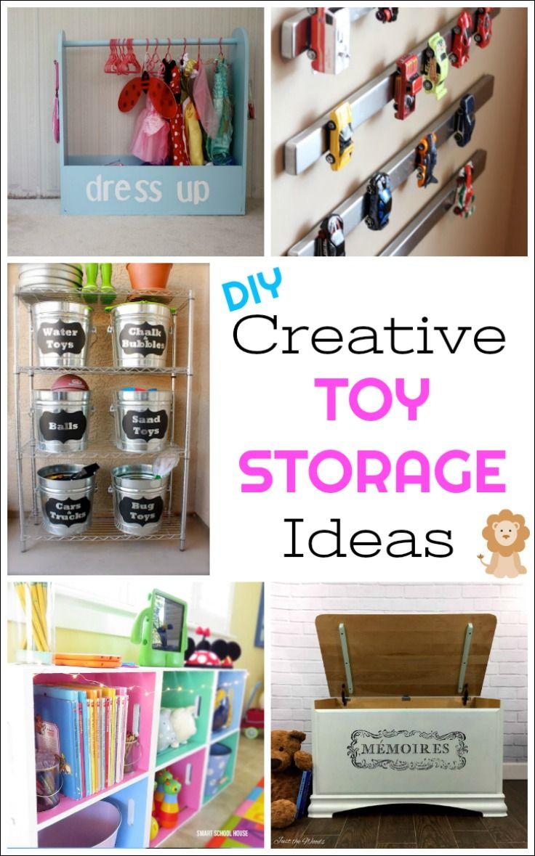 Creative DIY Toy Storage Ideas To Organize The Kids Mess