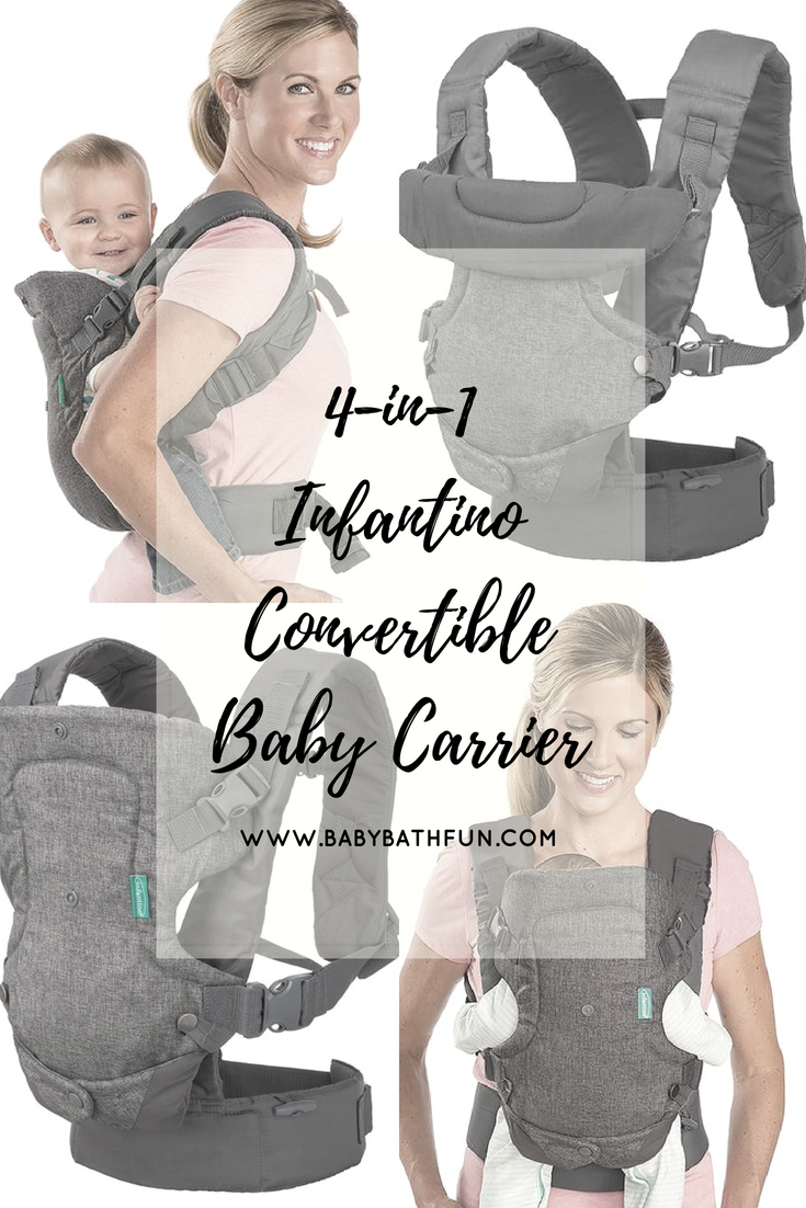 4 In 1 Infantino Convertible Baby Carrier