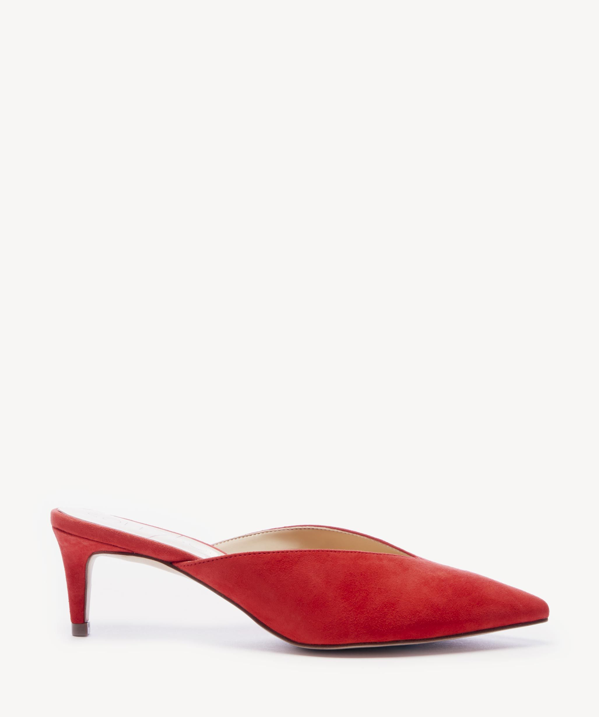 735f0cbfc106 Sole Society Maleah Mules Pumps Deep Coral
