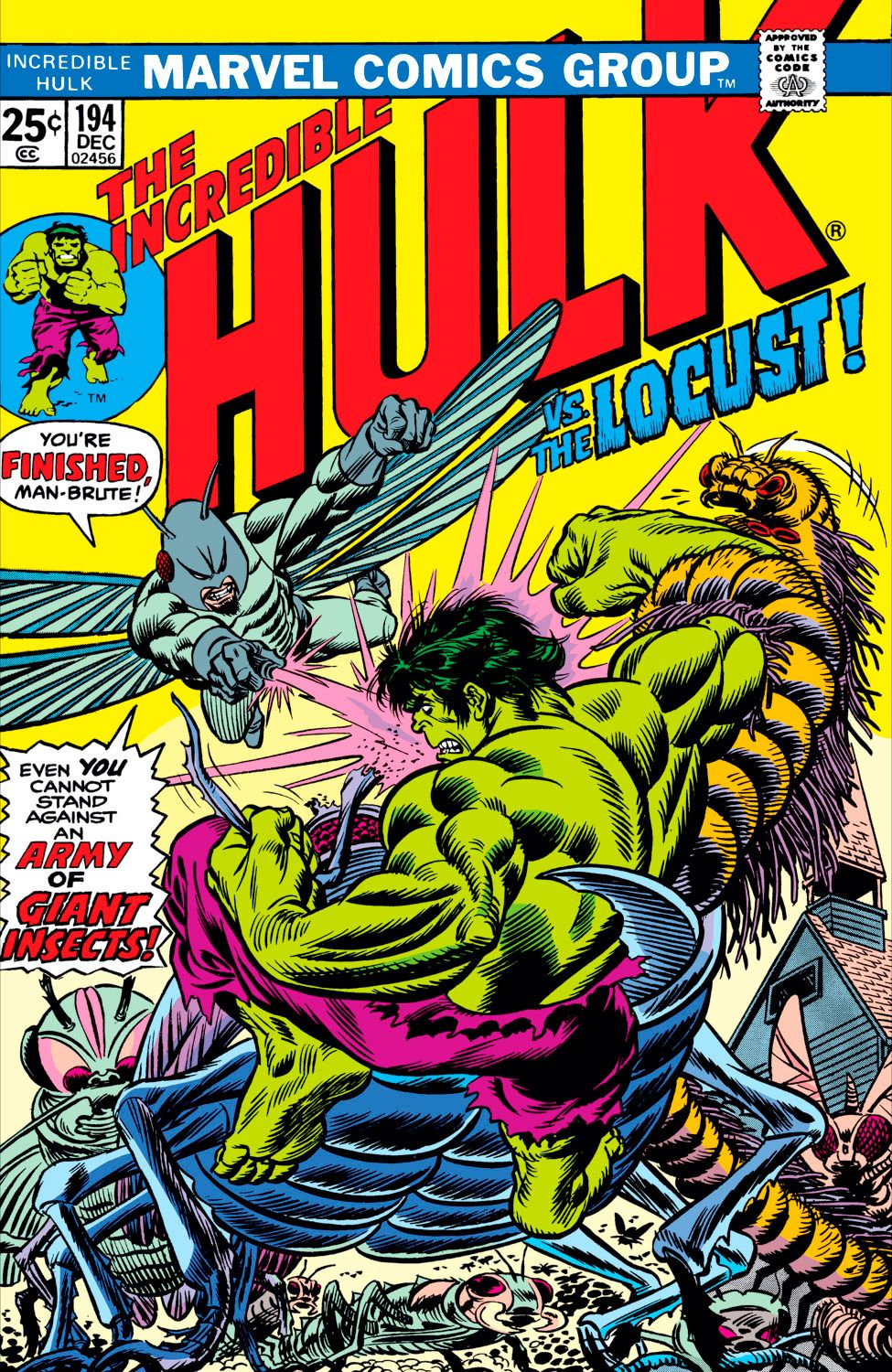 Incredible Hulk #194 Comic Cover