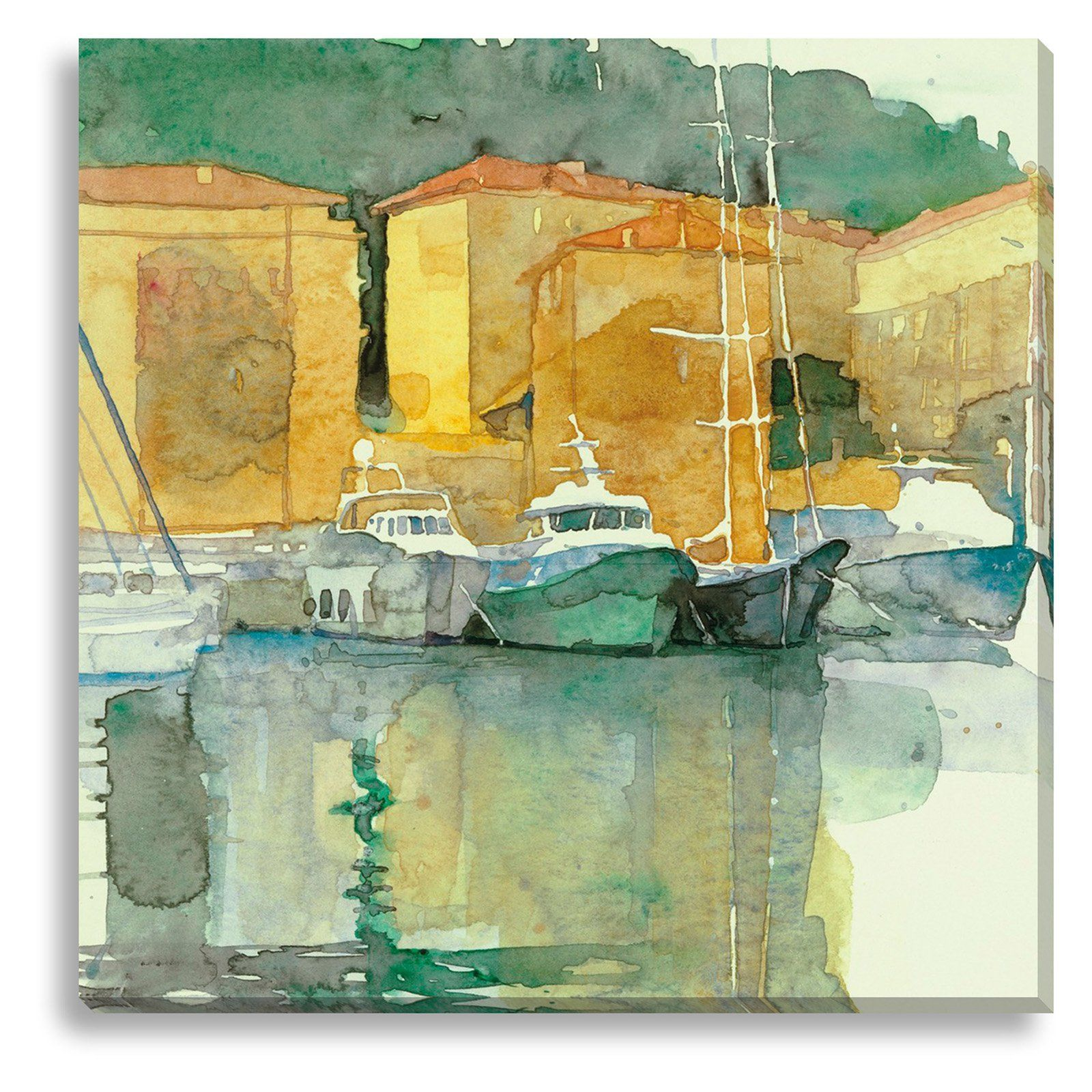 New Era Still Harbor Indoor/Outdoor Canvas Print by Tatara - NE73534 ...
