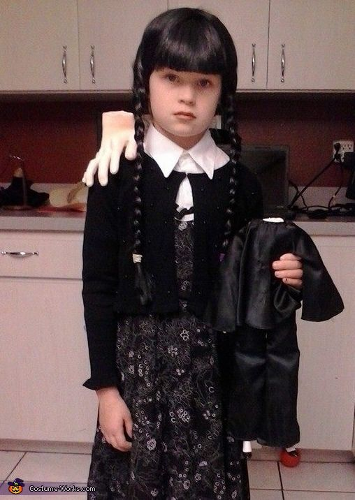 wednesday addams costume - Halloween Costumes Wednesday Addams
