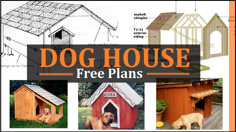 Dog House Plans Free Diy Projects Construct101 Dog House Diy Dog House Plans Warm Dog House