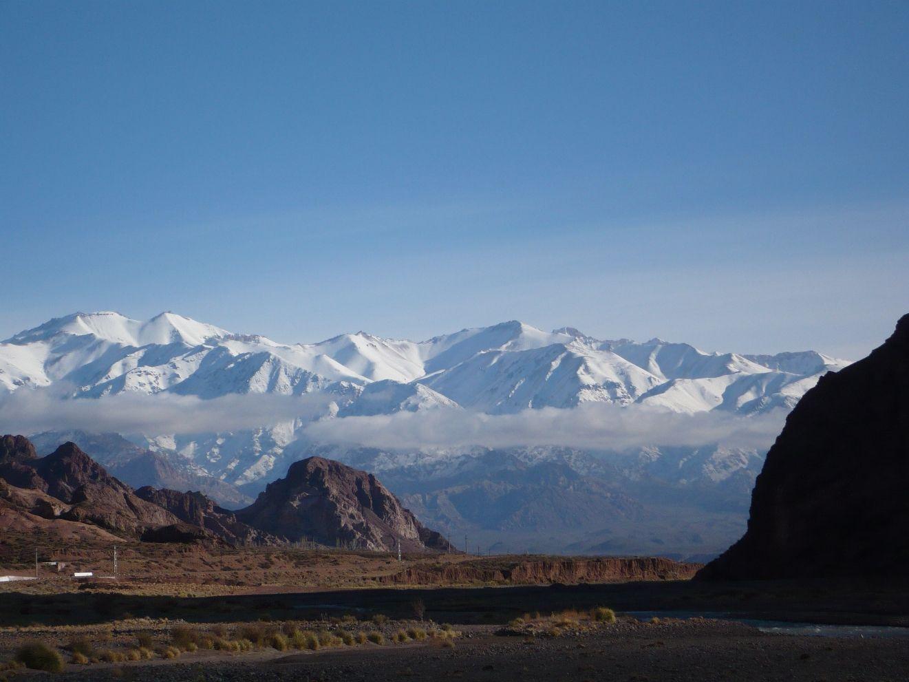 Mendoza - vista da Cordilheira dos Andes - Viagem com Sabor