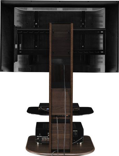 Beau Altra Furniture Galaxy TV Stand With Mount For TVs Up To 50 Inch, Walnut