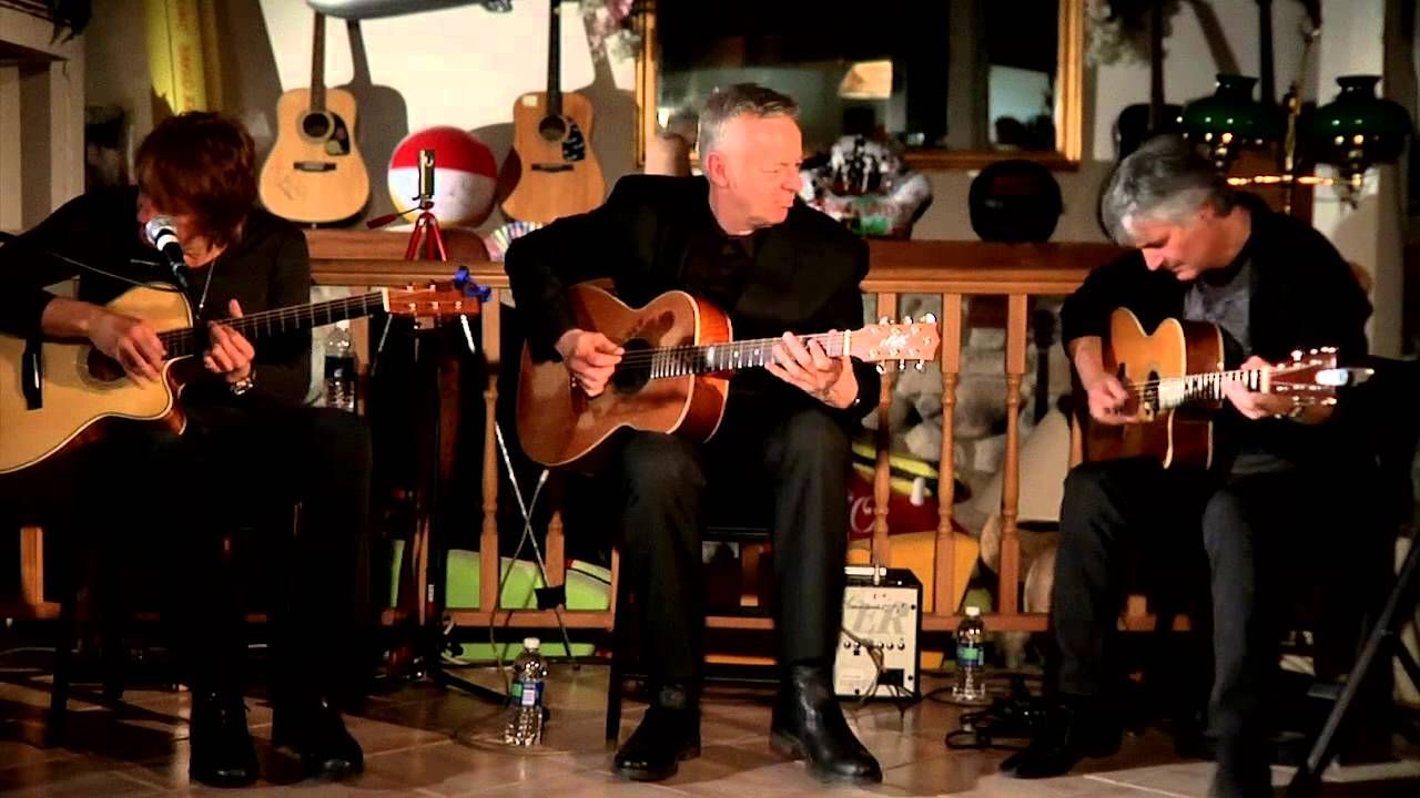 Richie Sambora Tommy Emmanuel And Laurence Juber Acoustic Jam Tommy Emmanuel Good Music Music Performance