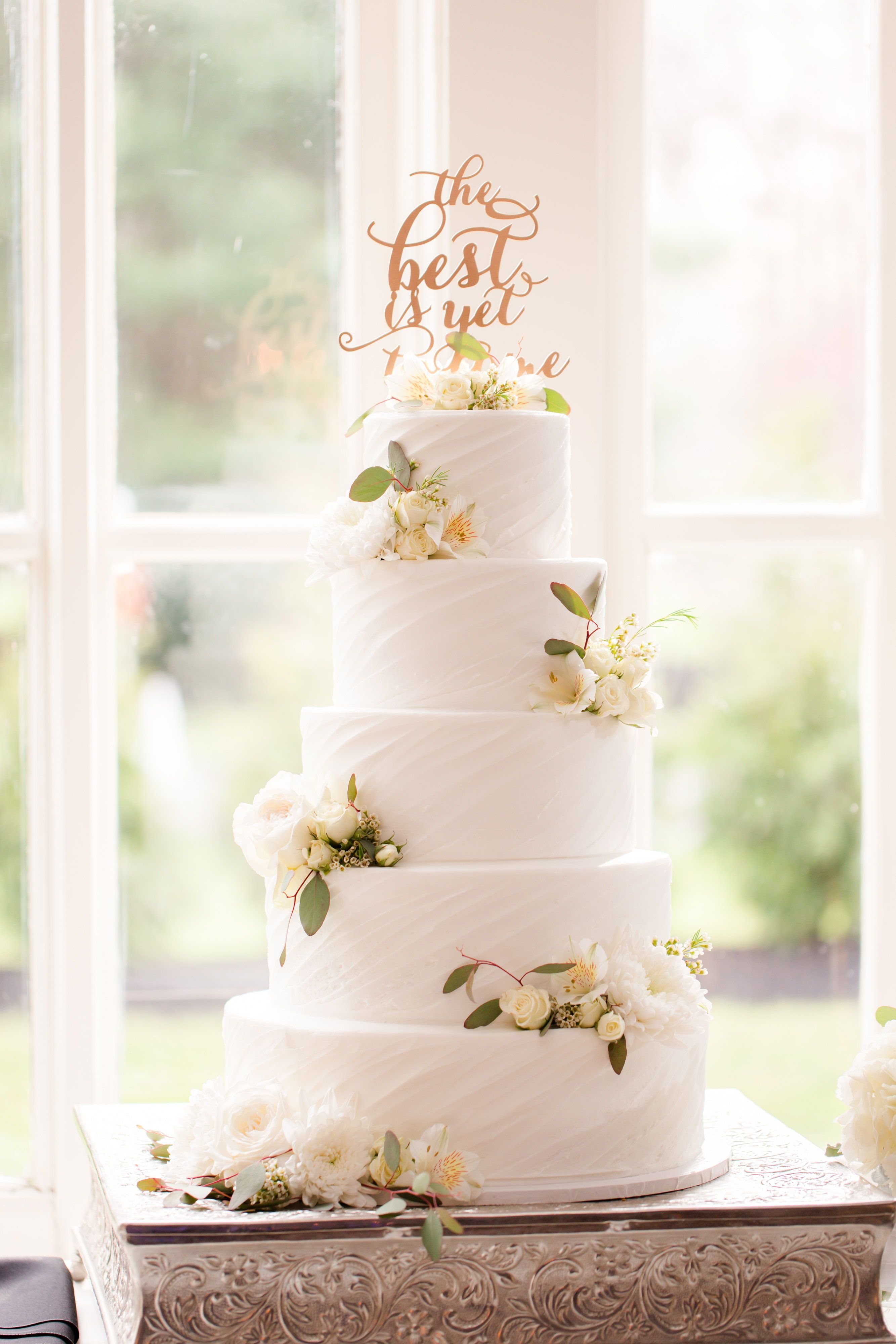 Pen Ryn Estate Wedding Kate And Mike Spring Wedding Cake Floral Wedding Cakes Elegant Wedding Cakes