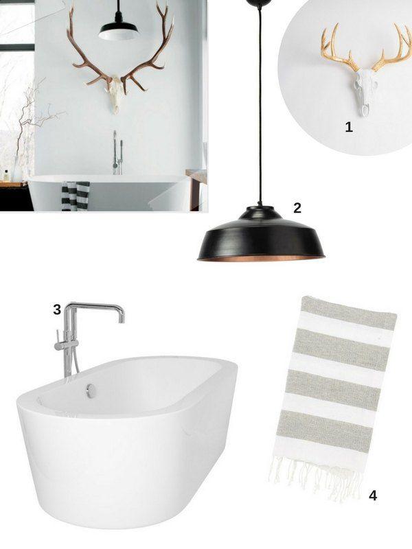 70 id es originales piquer pour relooker votre salle de bains id es originales rustique et. Black Bedroom Furniture Sets. Home Design Ideas