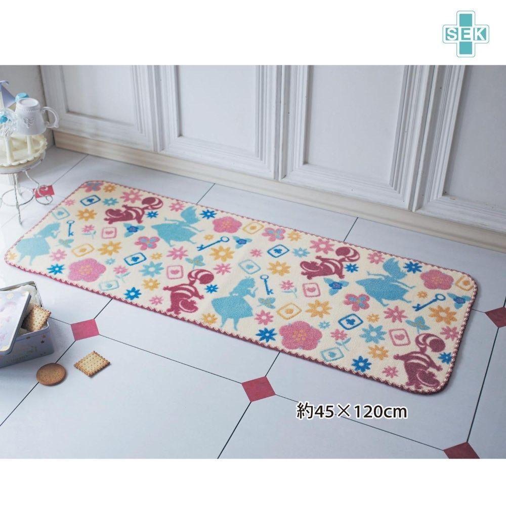 Disney Japan Alice In Wonderland Kitchen Mat Rug Carpet 45x120cm Limited 61c Rugs On Carpet Alice In Wonderland Kitchen Mat Rugs