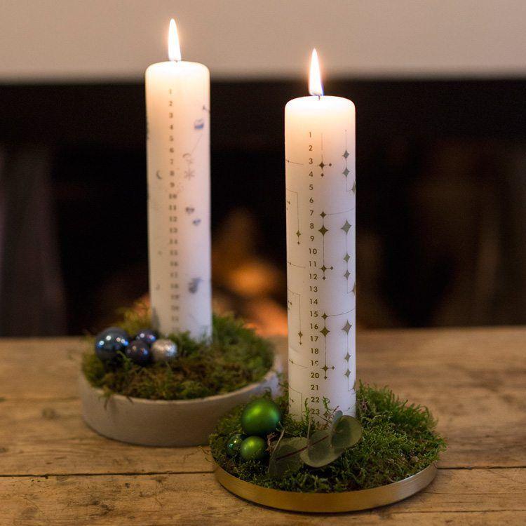 Lav et simpelt, flot kalenderlys - Gør det selv med #juledekorationideer2019