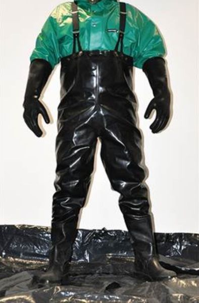 Vintage Chest Waders Rubber Boots Boots Rain Wear
