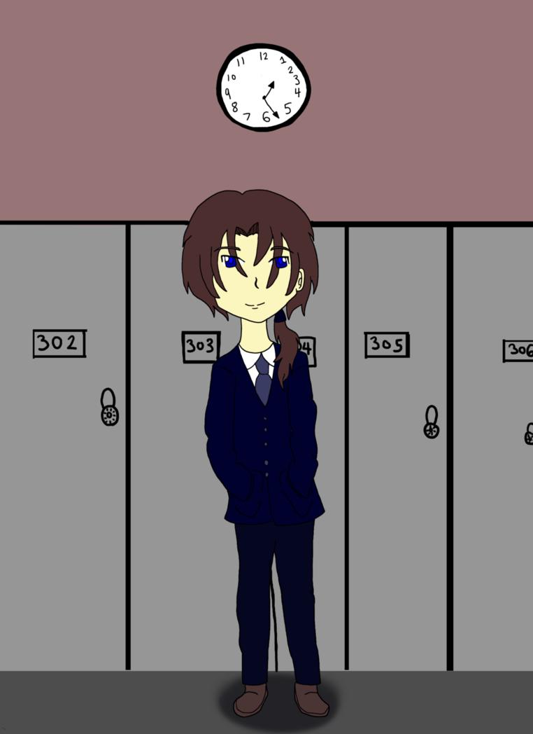 Standing In The Hall by Nika0625.deviantart.com on @DeviantArt