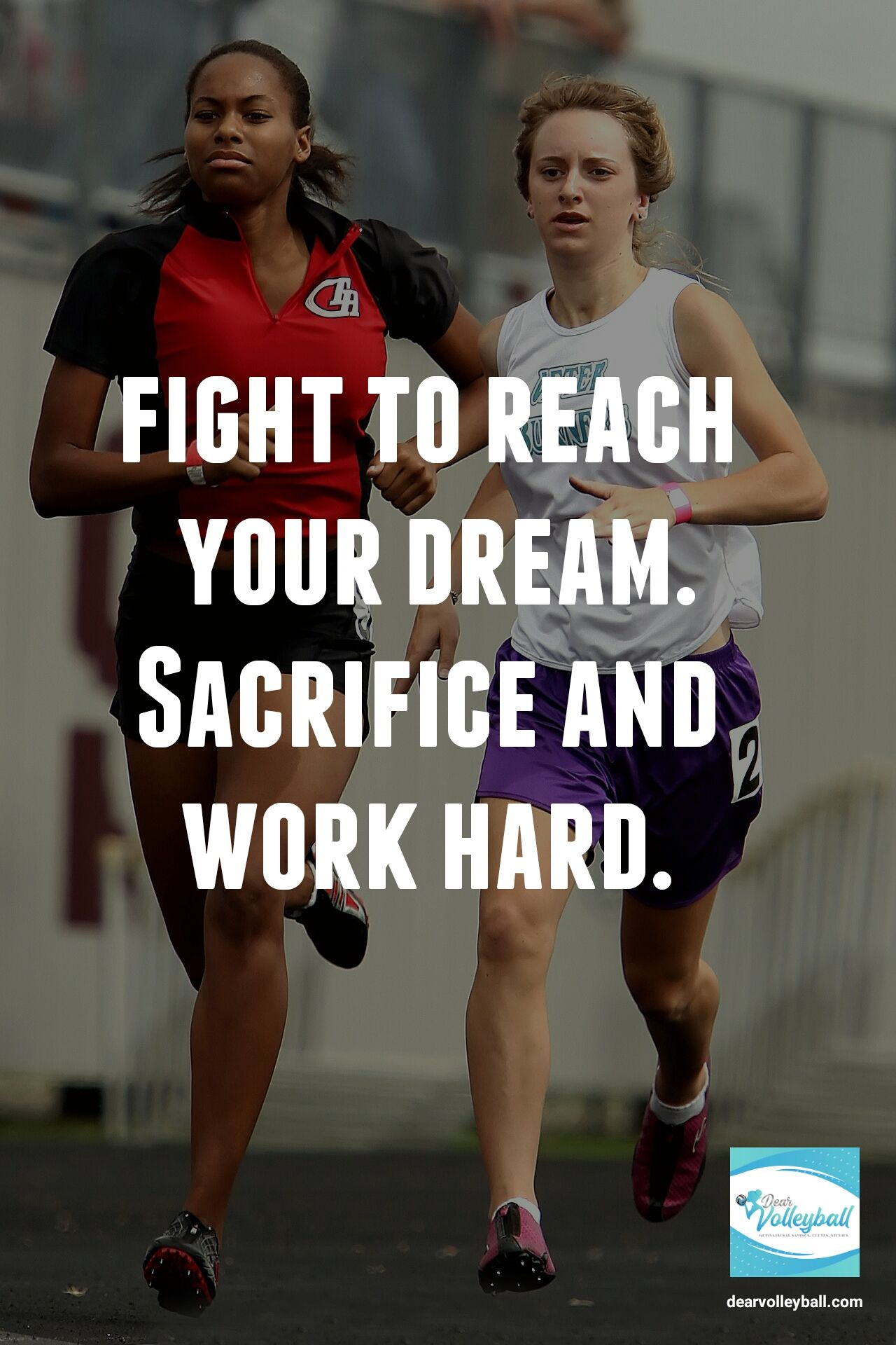 An Inspirational Volleyball Quote With 33 Pictures Of Strong Girls Inspirational Volleyball Quotes Strong Girls Sport Motivation