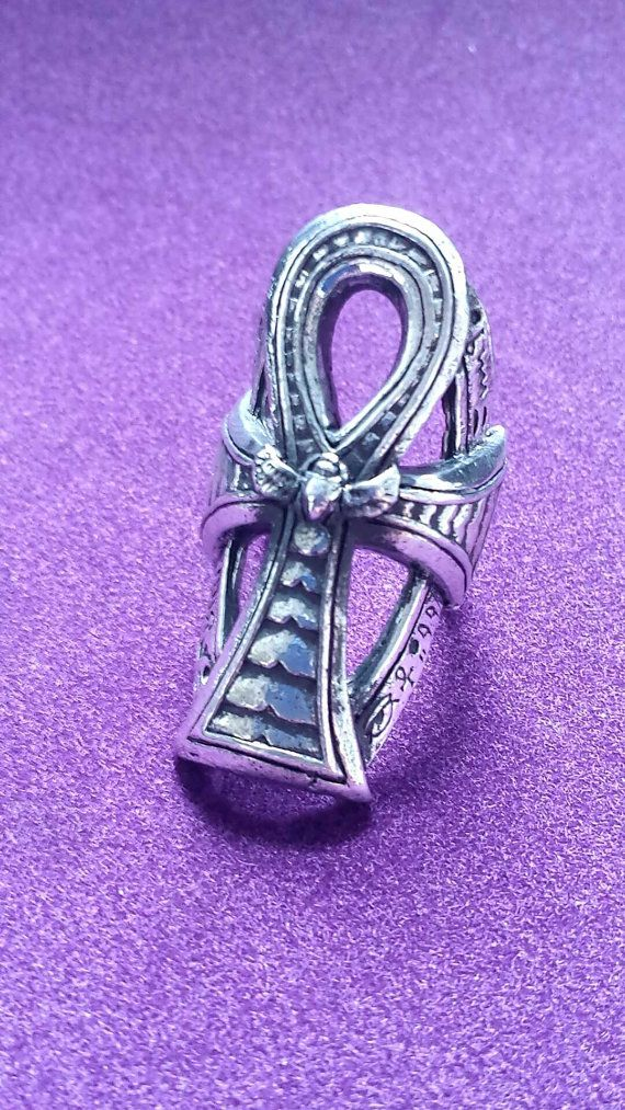 Ankh Ring by UncleFesterz on Etsy