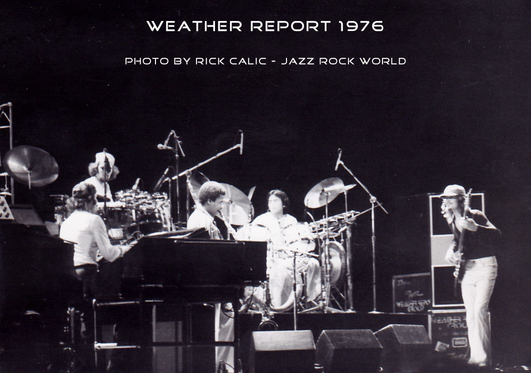 Weather Report Weather Report Jazz Band Jaco Pastorius