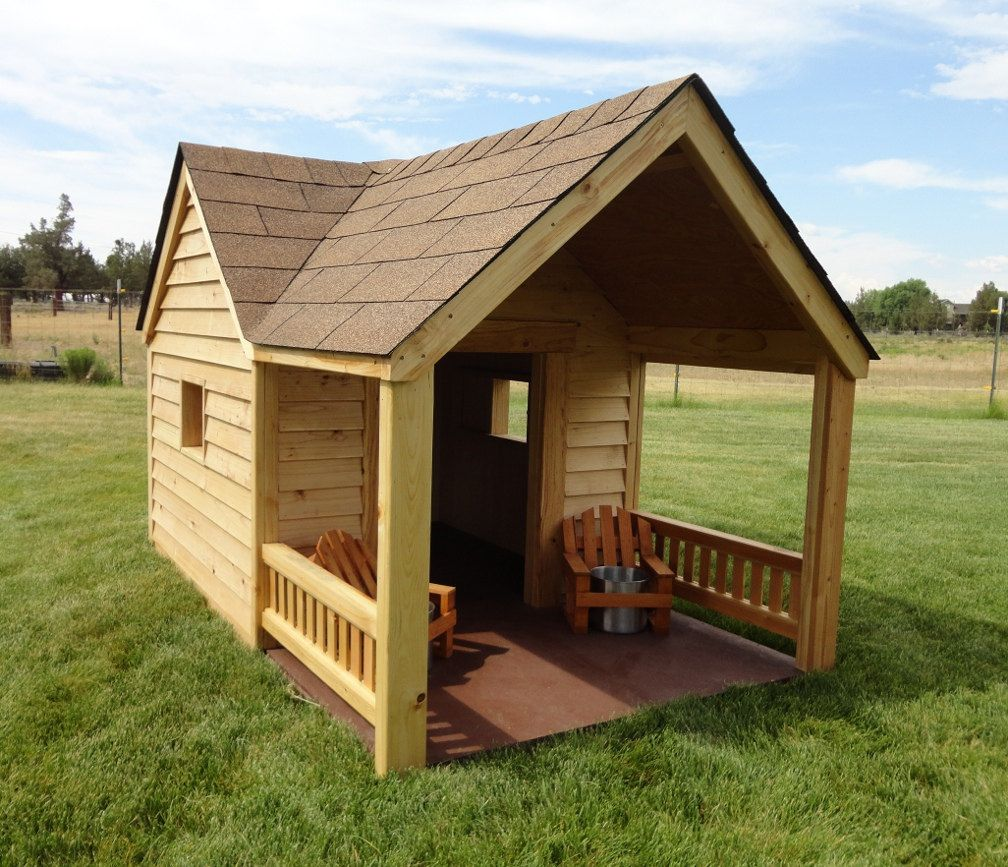 I Think My Dog Needs A Dog House Like This Dog House Plans Dog
