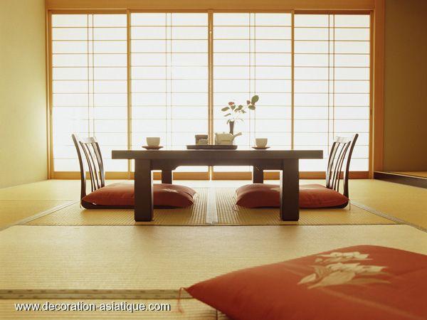 Intérieur japonais décoration interieur japonais