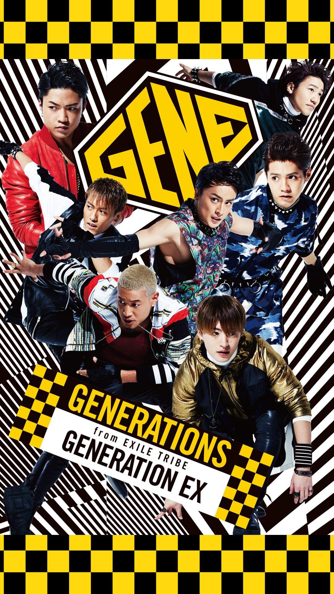 Generations From Exile Tribe ジェネレーションズ Iphone用 その4 無料 高画質スマホ壁紙 Net Days アニメ ジェネレーションズ ジェネレーション