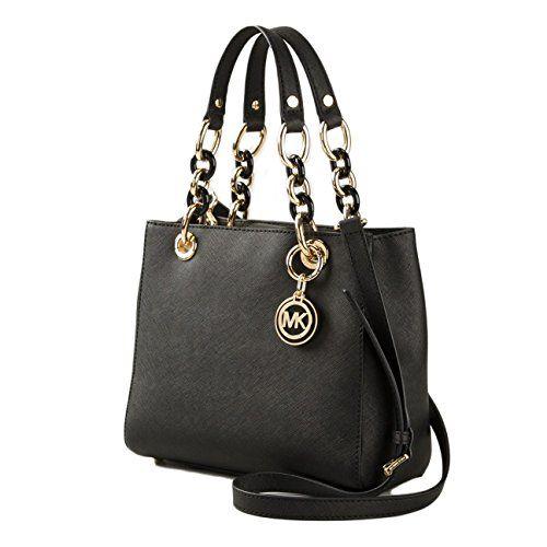 1ac513231ef Women s Top-Handle Handbags - MICHAEL Michael Kors Cynthia Mini Satchel  Black   Check out the image by visiting the link.