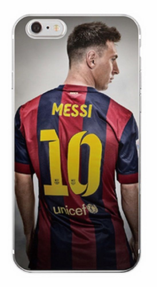 45095ced6 Messi Phone Case for iPhone 7 Plus Unicef  10 Soccer Player Soft Barcelona  Club  UnbrandedGeneric