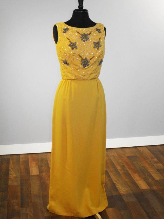 Vintage Late 1950s EVENING SUN SIREN Full by VoilaVintageClothing, $139.00