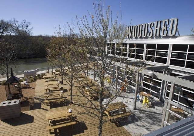 Woodshed Smokehouse Sits By The Trinity River