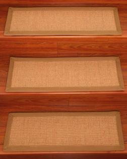 Best Bristol Sisal Stair Tread Set Of 13 Carpet Stairs 400 x 300