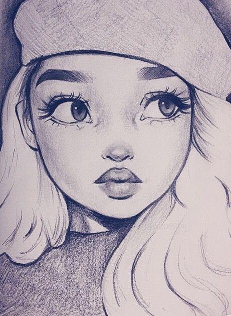 Bleistiftzeichnung Frauen zeichnen – Bleistiftzeichnung #pencildrawings