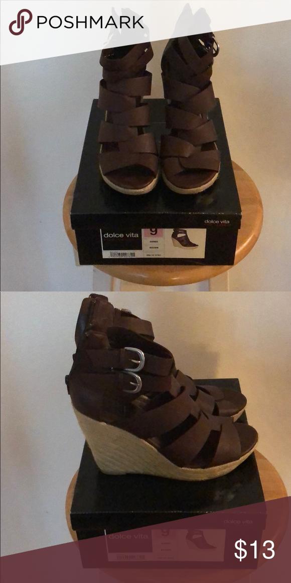 19046f850b35 Dolce Vita for Target Wedges Brown Wedges Only worn a few times Shoes Wedges