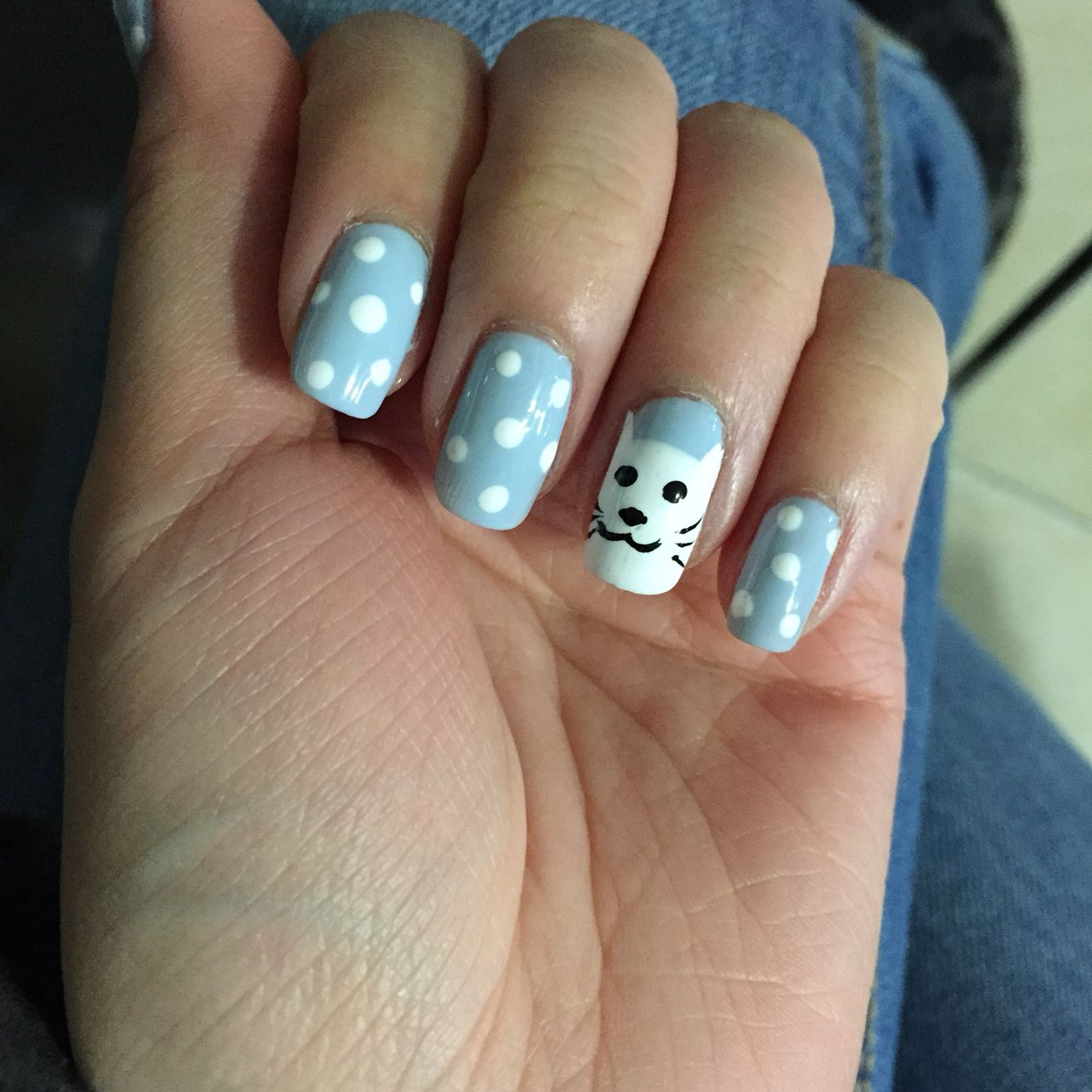 Kitten nails | Nail art designs I\'ve tried | Pinterest