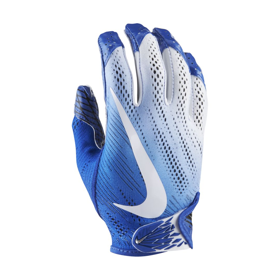 Nike Vapor Knit 2 0 Football Gloves Size L Game Royal Football Gloves Gloves Nike Gloves